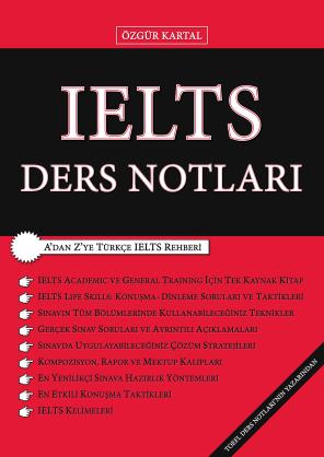 IELTS DERS NOTLARI - ÖZGÜR KARTAL - 1